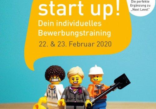 start up! - Dein individuelles Bewerbungstraining