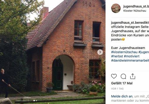 Jugendhaus St. Benedikt auf Instagram