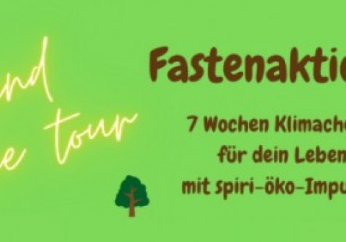 Fastenaktion Jugend on-line tour