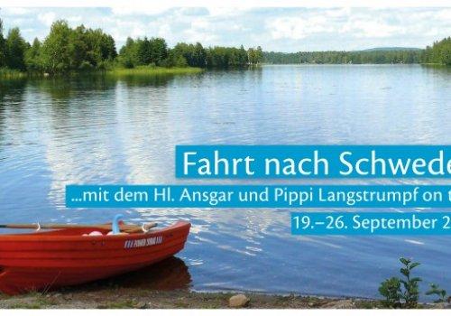 ...mit dem Hl. Ansgar und Pippi Langstrumpf on tour